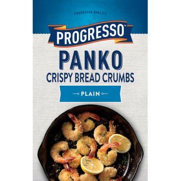 Progresso Panko Plain Crispy Bread Crumbs, 8 oz
