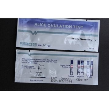 100 Early High Sensitivity Ovulation Lh Stripes Tests +10 Pregnancy Tests