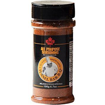 TBQ All Purpose Seasoning Spice Blend 190g - 6.7oz Vegan, Halal, Gluten Free