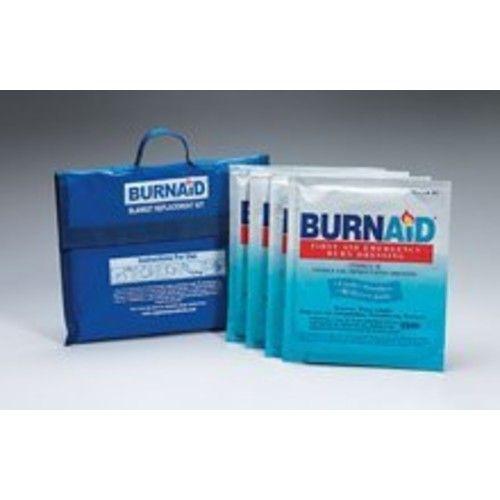 Burnaid burn blanket kit- 4- 16 in. x22 in. burn dressings (equivalent to 5x7 blanket) in nylon- refilla