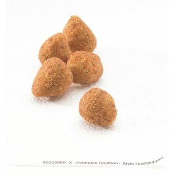 McCain Grabitizer Battered Southern Style Ovenable Hushpuppy, 2 Pound -- 6 per case.