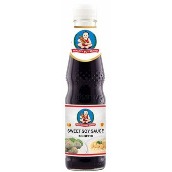 Healthy Boy Thai Sweet Soy Sauce (White Label), 14 Ounces, Product of Thailand (Pack of 1)