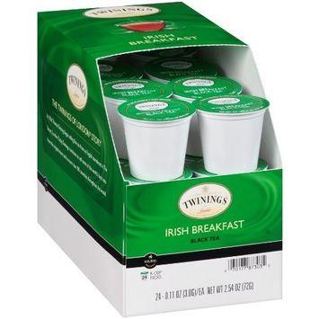 Twinings of London Irish Breakfast Tea K-Cups for Keurig, 24 Count [Irish Breakfast]
