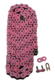 Factory Spec Pink 520x98 Non-Sealed Drive Chain 2009-2017 Yamaha YFZ450R