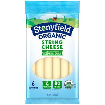 Stonyfield® Organic String Cheese