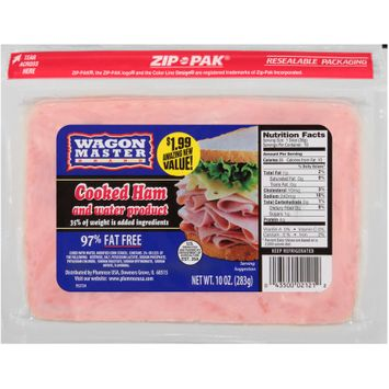 Wagon Master Brand Cooked Ham and Water Product