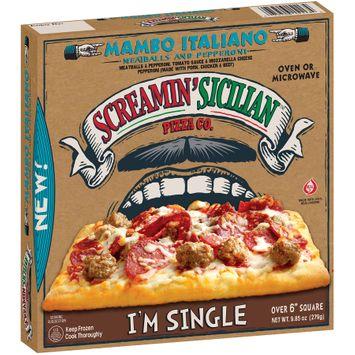 Screamin' Sicilian™ Pizza co Mambo Italiano Meatballs and Pepperoni Pizza