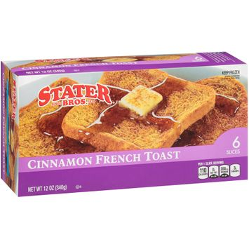 Stater bros® Cinnamon French Toast