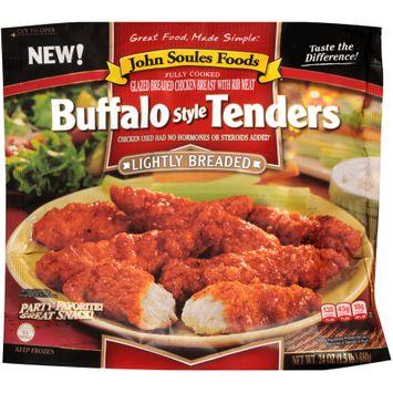 john soules foods® lightly breaded buffalo style tenders