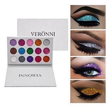 Creazy Shimmer Glitter Eye Shadow Powder Palette Matte Eyeshadow Cosmetic Makeup