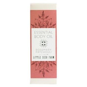 Little Seed Farm Rosemary Patchouli Essential Body Oil - 4oz