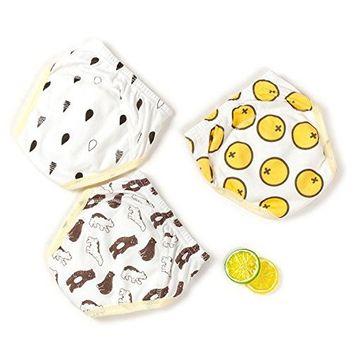 Jomin Infant Baby Boys Reusable 3 Pack Toilet Training Pants Nappy Underwear Cloth Diaper