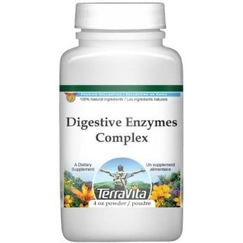 Digestive Enzymes Complex Powder - Boldo, Goldenseal, Gentian and Alfalfa (4 oz, ZIN: 512003)