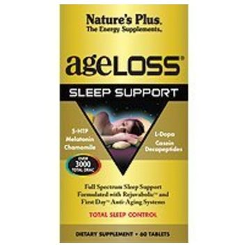 Nature's Plus Ageloss Sleep Support Tablets, 60 Count