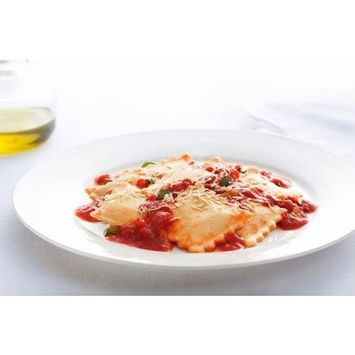 PastaCheese Fresh Medium Square Lobster Ravioli, 14 Ounce (Pack of 4)