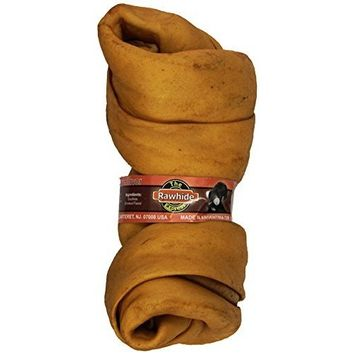 Mr Bites 1-Pound Rawhide Chips for Dogs, Natural