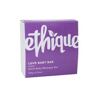 Ethique Eco-Friendly Baby Massage Bar, Love Baby Bar 3.53 oz