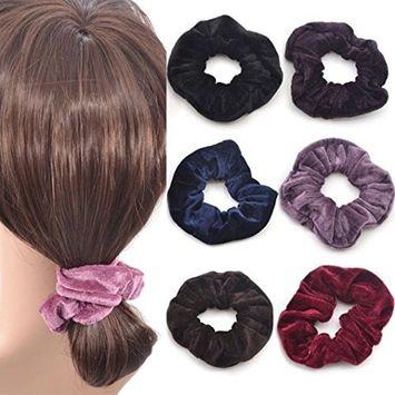 Voberry 1 Pcs Women Gilrs Baby Girls Kids Children Elastic Hair Ties Bands Rope Ponytail Holders Headband Scrunchie Hair Accessories [Random]