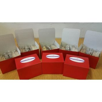 Emily's Heirloom Pound Cakes 6 Pack Assorted Slice Box