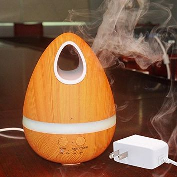 Creazy 200ml Air Aroma Humidifier Ultrasonic Air Aromatherapy Essential Oil Diffuser