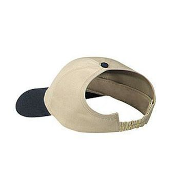 Otto Cap Brushed Cotton Twill Ponytail Low Profile Style Caps(SM) - Hat / Cap for Summer, Sports, Picnic, Casual wear and Reunion etc
