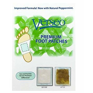Overnight Cleansing Foot Pads, Tourmaline Pads to Clean and Energize Your Body (90)