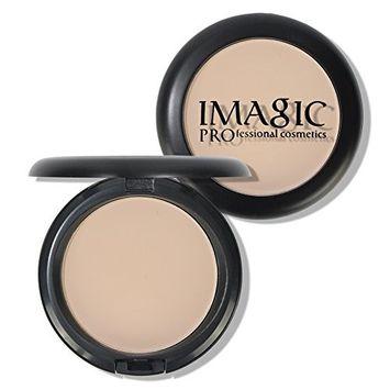 IMAGIC Brand Face Base Pressed Powder Makeup Matte Shimmer Fix Pressed Powder Highlight Contour Shading Powder (02)