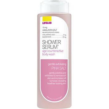 Lifelab Pink Sea Salt Age Counteractive Body Wash Shower Serum, 14.7 Fluid Ounce