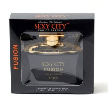 Parfums Parisienne Sexy City Fusion EDP Window Box 3.4 OZ