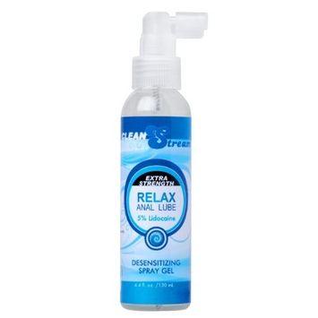 Cleanstream Relax Desensitizing Lube, 4.4 Fl Oz [Desensitizing Lube]