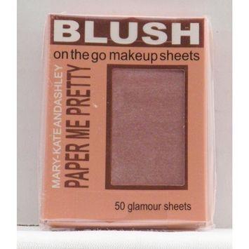 Mary-Kate & Ashley Paper Me Pretty Blush Makeup Sheets - Flushed #810