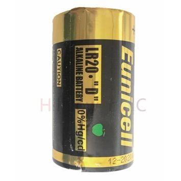 Hillflower 40 Piece Size D LR20 R20P Bulk 0% Hg 1.5V Ultra Power Alkaline New Battery