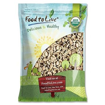 Organic Fava Beans by Food to Live (Broad Beans, Non-GMO, Kosher, Raw, Sproutable, Dried Vicia Faba, Bulk Seeds, Product of the USA) — 10 Pounds