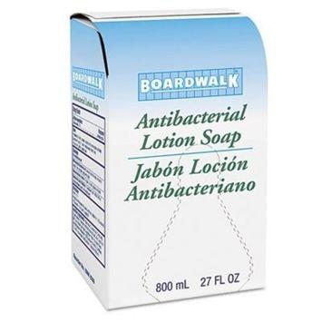 Boardwalkamp;reg; - Antibacterial Soap, Floral Balsam, 800ml Box, 12/Carton - Sold As 1 Carton - Lotion Formula Contains chloroxylenol (PCMX), a Broad-Spectrum Antimicrobial Agent.