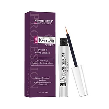 Neutriherbs Eyelashes Growth Serum Natural Petide Eyelash Serum for Longer and Eyebrows are Thicker Eyelashes 5ml