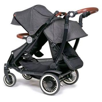 Austlen™ Entourage® Stroller with Second Seat in Black