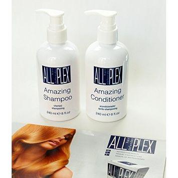 PLEX B.T Amazing Shampoo and Conditioner 8oz with Convenient Pump Duo