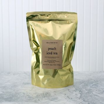 Peach Iced Tea - Teabags by the Pound [Peach]