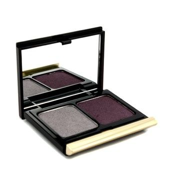 Kevyn Aucoin The Eye Shadow Duo # 201 Antique Silver/ Plum Shimmer 4.8G/0.16Oz