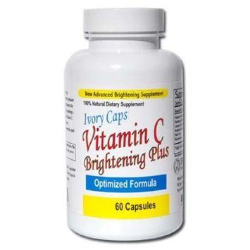 Ivory Caps Maximum Strength Vitamin C Brightening Plus 60 Caps