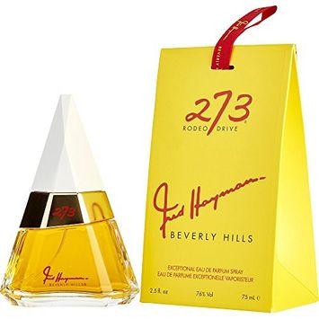 FRED HAYMAN 273 by Fred Hayman EAU DE PARFUM SPRAY 2.5 OZ (Package Of 2)