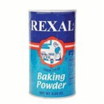 REXAL Baking Powder - Polvo para Hornear PROMESA - 8.8 OZ