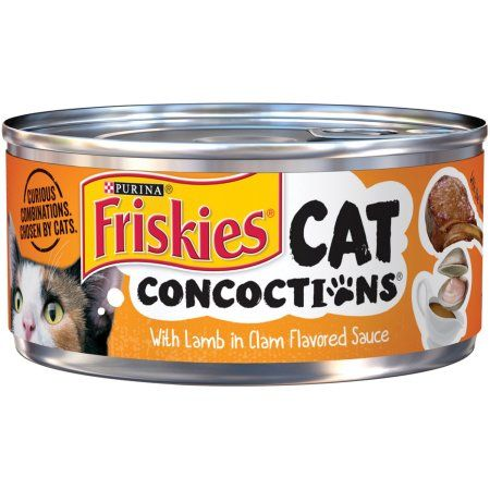 Friskies® Cat Concoctions with Lamb in Clam Flavored Sauce Cat Food