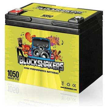 Green 12V 35AH 1050 Watts M6/T6 Car Stereo Battery replaces Stinger SPV35 - H00066-GREEN-00002