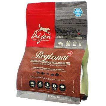 Orijen Freeze-Dried Regional Red Dog Food [Options : 16 oz]