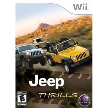 Destination Software Jeep Thrills - PRE-OWNED - Nintendo Wii