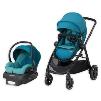 Maxi-cosir Infant Maxi-Cosi 5-1 Mico 30 Infant Car Seat & Zelia Stroller Modular Travel System, Size One Size - Blue/green