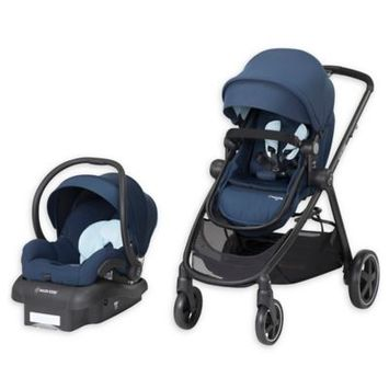 Maxi-cosir Infant Maxi-Cosi 5-1 Mico 30 Infant Car Seat & Zelia Stroller Modular Travel System, Size One Size - Blue