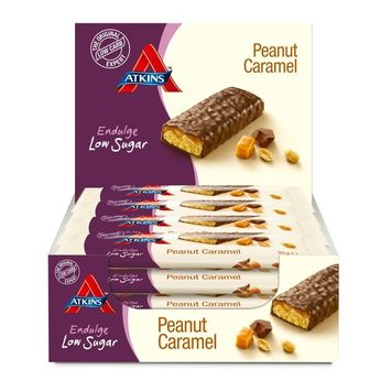 Atkins Endulge Peanut Caramel 35 g Low Carb Bars - by Atkins Endulge