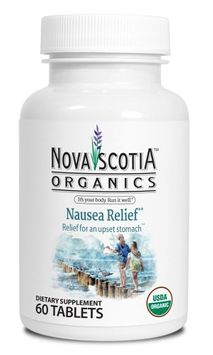Nova Scotia Organics Nausea Relief Tablets, 60 Ct
